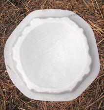 log birdbath / feeder mold abs plastic garden mold