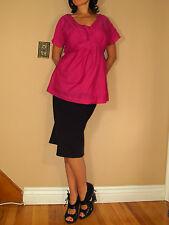 Marina Rinaldi Max Mara Silk/Cotton Pink Blouse+Shell MR17,21,23/US 8-16W NWT