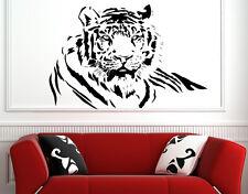 TIGRE del Bengala adesivo vinile decorazioni parete Murale Decalcomania Decor Muro Tatuaggio Art UK