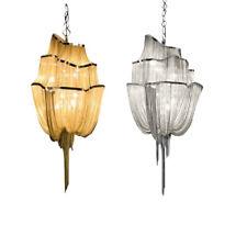 Modern Tassel Chandelier Aluminum Chain Pendant Light Ceiling Lamp Fixture