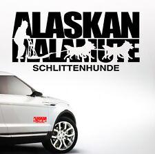 Auto Aufkleber ALASKAN MALAMUTE SCHLITTENHUNDE Hundesport Hund Hunde SIVIWONDER