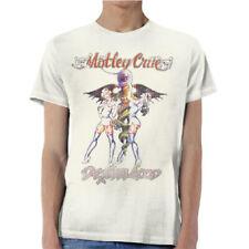 MOTLEY CRUE Dr Feelgood Vintage T-shirt NEW OFFICIAL All Size Kickstart My Heart