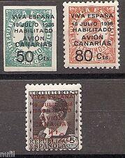 Spain Canarias Edifil # 4A/7 ** MNH Set. x 10 series en bloque
