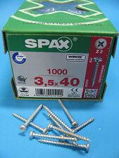 Orginal SPAX ® Rundkopf PanHaed Spax verz Holzschrauben alle Größen m Kreuzkopf