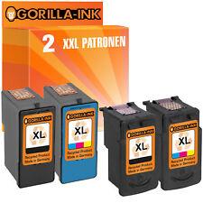 Set 2 Patronen für Canon PG 40/41 510/511 512/513 540/541 545/546 XL und Lexmark