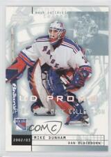 2002-03 Upper Deck Mask Collection UD Promo #54 Dan Blackburn Mike Dunham Card