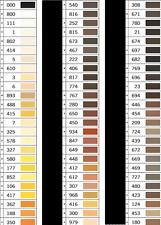 Sewing Yarn Nähseide 100m Gütermann Allesnaeher Thread Color 000 - 415