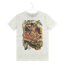 Maglietta Arti Marziali Samurai T-shirt Man Tatuaggio Giapponese Japan Old Art
