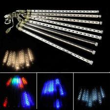 LED Meteor Shower Rain Waterproof Xmas Falling Tubes String Lights 192/384LEDs