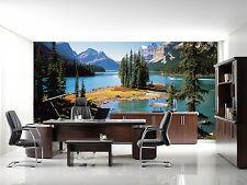 3D Cypress See Hügel 73 Tapete Wandgemälde Tapete Tapeten Bild Familie DE Summer