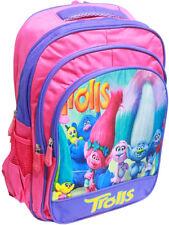 NEW LARGE KIDS BACKPACK SCHOOL BAG PRESCHOOL TROLLS BOYS GIRLS GIFT NEW PICNIC