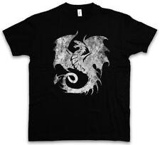DRAGON V T-SHIRT Tattoo Medieval Monster Japan Asien Dungeon Knight Drachen