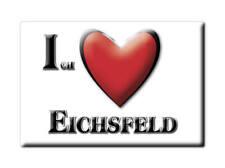 DEUTSCHLAND SOUVENIR KÜHLSCHRANKMAGNET FRIDGE ICH LIEBE I LOVE EICHSFELD