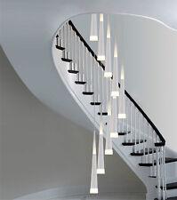Modern led Spiral ceiling light Chandelier stairway led pendant light stair lamp