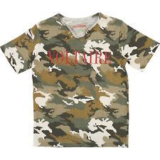 ZADIG & VOLTAIRE Kids T-Shirt army grün braun camouflage Logo Print Gr. 128 -176