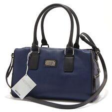 7872S borsa donna GEOX RESPIRA bauletto blu ecopelle con tracolla handbag woman