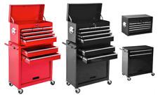 Carrello attrezzi 8 cassetti officina carrellino portautensili cassettiera ruote
