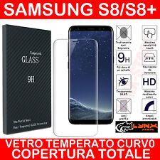 Pellicola Vetro Temperato Curvo Per Samsung Galaxy S8-S8 PLUS proteggi schermo