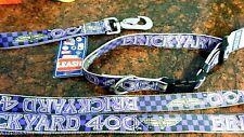 BRICKYARD 400 NASCAR DOG COLLAR & LEASH SET COLLECTIBLE