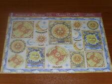 papier voile pour découpage technique serviette (soleil et lune) 48X33,5cm