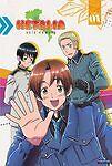 HETALIA : AXIS POWERS - SEASON ONE (2008) 2DVD RARE! (Funimation) anime Msc12