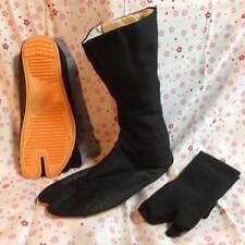 Japanese JIKA TABI Boots Ninja Shoes with Socks High Tops 24.5(6.5)-30cm(12.0)