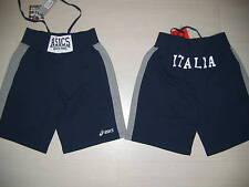 10034 TG. XXL ASICS ITALIA BOXE PUGILATO FPI PANTALONCINI PANTALONCINO BERMUDA