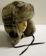 Women's Faux Fur Cap Hat OSFA NEW!