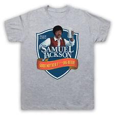 SAMUEL L. JACKSON ADAMS CRAFT BEER HUMOUR DAVE PARODY CHAPPELLE FUNNY T-SHIRT