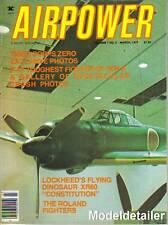 Airpower Magazine V7 N2 Roland Monocoque Fuselage Japanese A6M5 Saipan Zero P-47