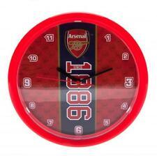 New Official Football Club Teams Wall Clocks Decorative Soccer Round Clock Gift