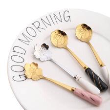 Shape Mixing Drink Coffee Stirrers Teaspoons Spoon Tableware Kitchen Supplies
