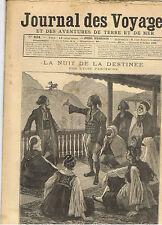 JOURNAL DES VOYAGES 1893 la nuit de la destinee