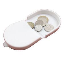 Rotondo in silicone chiave del wallet portamonete in gomma colore semplice cambiamento PIEGHEVOLE Pouch