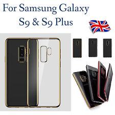 Luxury Slim Clear Crystal Soft TPU Gel Case Cover For Samsung Galaxy S9 S9+ Plus