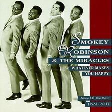 SMOKEY ROBINSON & MARACLES / WHATEVER MAKES YOU HAPPY * NEW CD * NEU *