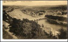 NAMUR Citadelle 1914 AK Panorama Meuse Brücken Blick