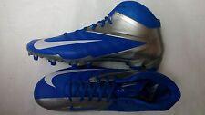 Nike Vapor Pro TD NFL 3/4 Mid Football Cleat Style 543924-411 Detroit Lions