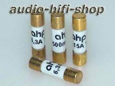 AHP audiophile Feinsicherungen II vergoldet 250V AC Feinsicherung Sicherung NEU