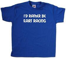 I'd Rather Be Kart Racing Kids T-Shirt