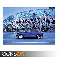 AUDI Q5 3.0 TDI QUATTRO CAR 16 (AC935) CAR POSTER - Poster Print Art A0 A1 A2 A3