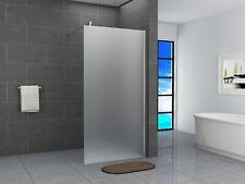 Walk In Dusche Duschwand Duschabtrennung 40-160x200cm 10mm Milchglas