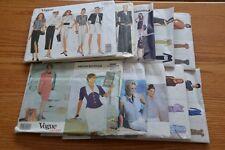 Vogue Sewing Patterns Designer Klein Nipon Betzina DKNY Retro Vintage UNCUT