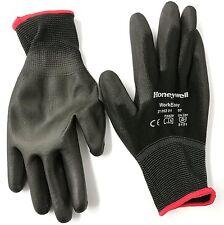 1 Pair of Honeywell Workeasy Black PU Safety Work Gloves - size 6 to 11