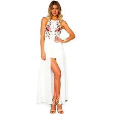 Suzanjas Kleid Blüten weiß 36 - 40 S - M
