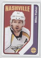 2014 O-Pee-Chee Retro Blank Back 420 Mike Fisher Nashville Predators Hockey Card