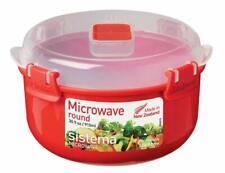 New listing Sistema Microwave Collection Soup Mug, Medium, 22.1 oz./0.7 L, Red