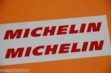KIT 2 ADESIVI MICHELIN INCL mm.100 x 10 - DECALS STICKERS AUFKLEBER PEGATINAS