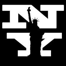 Sticker Déco XXL States New York Statue de la Liberté, (35x42 cm à 60x72 cm)