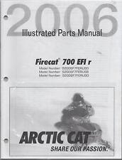2006 ARCTIC CAT FIRECAT 700 EFI r  SNOWMOBILE PARTS MANUAL